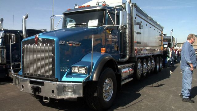 MATS Bobtail Trucks - Dick Fisher